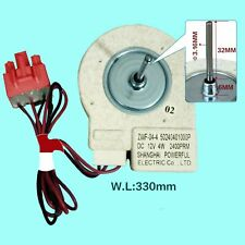 Fan Motor Replace for Midea Refrigerator BCD-330WTV Freezing ZWF-02-4 Universal