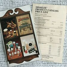 Vintage Shaklee Product Catalog w Price List 1976