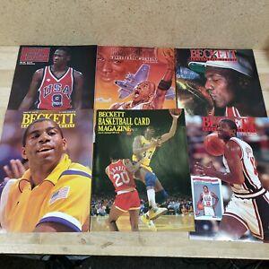 VTG Beckett Basketball Monthly 1990s Magazine Michael Jordan Magic Johnson lot