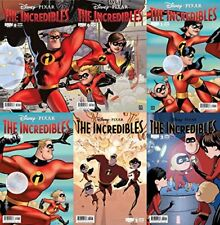 The Incredibles #0-2 (2009-2010) Boom Comics - 6 Comics