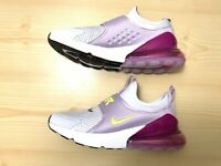 Nike Air Max 270 Extreme GS White Purple  Shoes Kids 6y Womens 7.5 CI1108-003