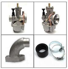 OKO PWK 30 mm Vergaser + Vespa Ansaugstutzen PX / T5 / Cosa / Sprint / NEU