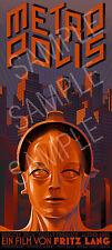 Metropolis Movie Heinz Schulz-Neudamm (2) XXL 1 Piece 1.3 Meter Poster Art Print