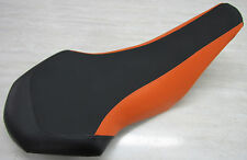KTM   525 450 505 seat cover  ATV (GRIPPER) black and orange