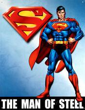 Superman Tin Sign - 12x16