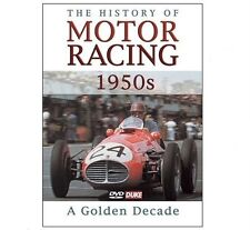THE HISTORY OF MOTOR RACING 1950's DVD - A Golden Decade - Duke  SAVE 40% - New