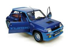 RENAULT 5 TURBO 1 1980 METAL BLUE UNIVERSAL HOBBIES R5 1/18 BLEUE 1:18 BLAU