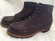 Mens Red Wing Beckman Moc Toe Ankle Boots - Size 7.5 D