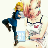 DBZ Dragon Ball Super Prize A Kuji Android Battle Android 18 Figure 16cm NoBox