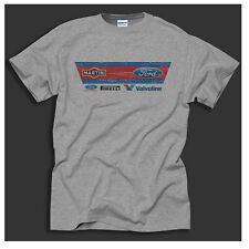 Martini Ford Racing Cosworth RS Escort Classic Distressed Print Grey T-Shirt