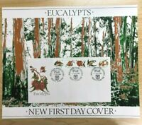 SP28a) 1982 Australia Post Poster First Day Cover Eucalypts