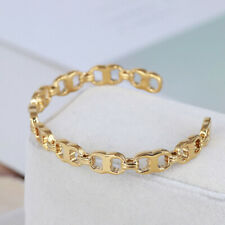 Tory Burch Gold Plated Cuff Bracelet&  Free Shipping