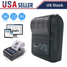 58mm Pocket Bluetooth Wireless Pocket Mobile Pos Thermal Receipt Printer T1a4