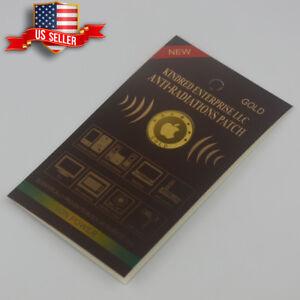 Anti Radiation Patch Sticker 99% Radiation Protection Gold-24K