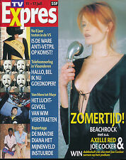 TV EXPRES 1517 (7/7/98) AXELLE RED LADY DI JOHNNY HALLYDAY PAVAROTTI DOMINGO