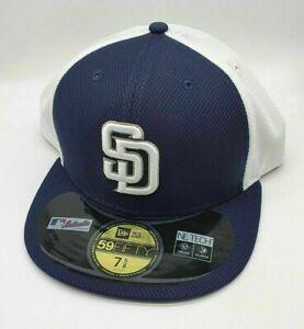 New Era MLB 59Fifty 5950 Diamond Era Fitted Cap Hat - San Diego Padres