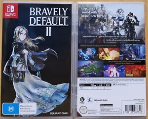 Bravely Default II 2 AUS Print Nintendo Switch NEW & OPENED FREE Express