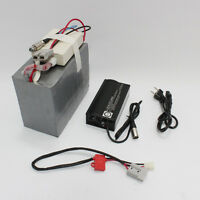 48V 20AH LiFePO4 Battery with BMS and 5A Fast Charger Electric Bicycle Ebike