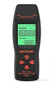 Meterk EMF Meter Electromagnetic Field Radiation Detector Handheld Mini Digital