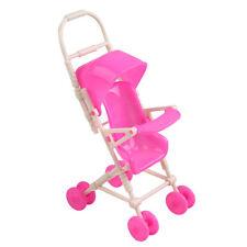 Baby Kids Children Stroller Trolley Nursery Furniture Toy For Barbie Doll Gifts