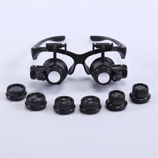10X 25X Dentiste DEL loupes chirurgicales médical binoculaire glass Dental loupe Set