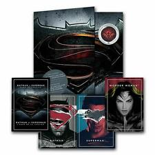 2016 Canada 25-cent 3D Lenticular Coin & two Cards Batman v Superman Dawn