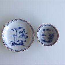 Chinese Shipwreck Nanking Cargo c1750 Batavian Tea Bowl & Saucer Bamboo & Peony