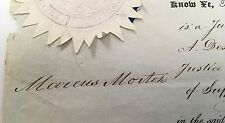 Marcus Morton Massachusetts Governor John Bigelow signed US representative