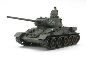 Tamiya T-34-85 Russian Medium Tank 1:48 scale model kit 32599