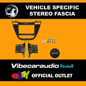 Vauxhall Insignia 2008 - 2013 Double Din Stereo Fascia Adaptor Black CT23VX24