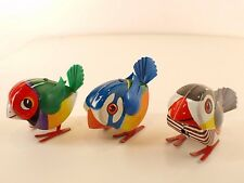Lehmann DRGM LULI Lot oiseau bird Vögel tôle moteur à clé 6 cm clockwork Tin toy