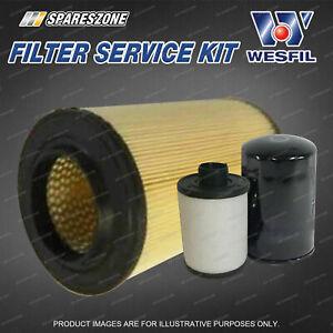 Wesfil Oil Air Fuel Filter Service Kit for Fiat Ducato 2007 3.0L JTD 07-12