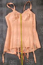 Vintage Tightlaced Corset 4 Suspender Girdle Size 78 Cup B or C