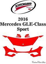 3M Scotchgard Paint Protection Film Clear Bra Kits 2016 Mercedes GLE Class Sport