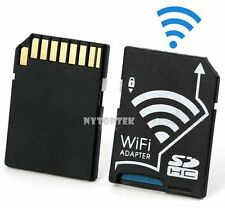Wireless Wifi SD Card Adapter Micro SD TF Converter For SONY Canon Camera USA