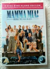76400 DVD - Mamma Mia Here We Go Again [NEW / SEALED]  2018  831 625 2