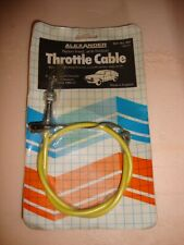 THROTTLE / ACCELERATOR CABLE VAUXHALL CHEVETTE / CHEVANNE ALL MODELS 1980 on~