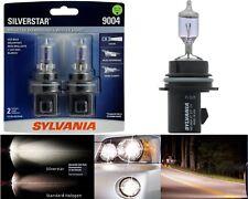 Sylvania Silverstar 9004 HB1 65/45W Two Bulbs Head Light Replacement Upgrade