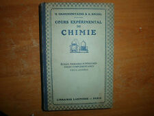 cours expérimental de chimie 1922 (47)