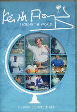KEITH FLOYD AROUND THE WORLD 14 DVD BOX SET ITALY AFRICA SPAIN FJORD MED COOKING