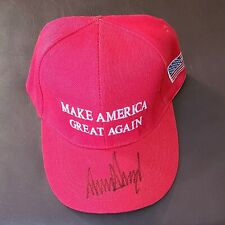 Donald Trump Autograph - Hand Signed Maga Hat w/ Letter of Authenticity