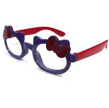 ANT Ribbon Frame Design Kids Fashion Glasses Eyewear - PURPLE