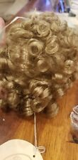 Doll Making Repair Parts Restore Hair Wig Wee 3 Collection Norma 8- 9 1/2 Blonde