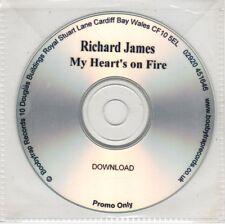 (GW739) Richard James, My Heart's On Fire - DJ CD