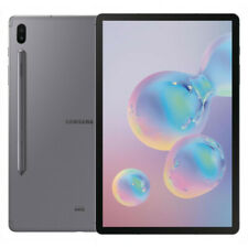 Samsung Galaxy Tab S6 - 128GB - LTE (T-Mobile) - 10.5 in - Mountain Gray - VGC