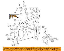 locks hardware for 2007 toyota yaris for sale ebay rh ebay com Padlock Parts Diagram Door Knob Parts Diagram