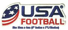 USA. American Football Sport Embroidery Patches logo iron,sewing on clothes