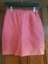 New With Tags Christian Lacroix Pink Skirt Size 38 silk and acetate nwt