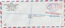 1978 Jamaica oversize registered cover sent from Kingston to TIMKEN Duston Nhtsh