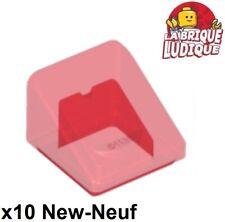 10x slope brick brique pente 30 1x1x2//3 gris//light bluish gray 54200 NEUF Lego